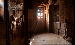 JOURNEY INTO THE PAST, RIDING ON A BEAM OF LIGHT... (GOPAN G. NAIR [ GOPS Creativ ]) Tags: india statue rock stone architecture photography south carving caves karnataka badami gops gopan gopsorg gopangnair gopsphotography
