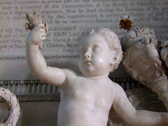 a boy and a broken stem (Simon_K) Tags: church hall churches cambridgeshire hardwick eastanglia wimpole cambs hardwicke