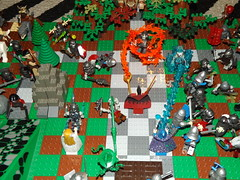 wizards and witches defend castles main entrance (Nilbog Bricks) Tags: castle blood war lego witch wizard dragons battle dungeon lotr human fantasy goblin knight minifig custom hobbit orc merc moc minifigures kreo brickforge brickquest brickwarriors