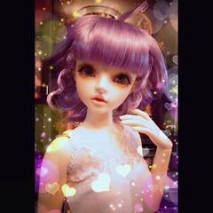 Magical Angel Creamy Mami (possiblezen) Tags: angel toy doll sweet mami sd zen sweetie bjd volks magical ka bandai belldandy granado kaili