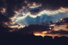 Dusk approaches 219/365 (rafiq s) Tags: school sky southafrica dramatic gradient fujifilm za tone sandton gauteng project365 xt1
