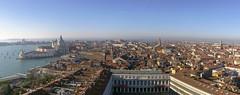 Cityscape of Venice (Fil.ippo) Tags: venice panorama cityscape aerial belltower campanile venezia filippo sanmarco santamariadellasalute sigma1020 procuratie d7000 filippobianchi