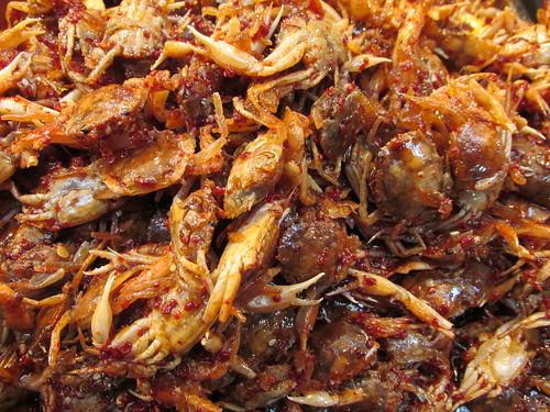 Crabes, Corée du Sud