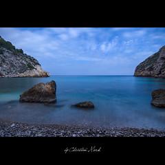 Granadella (Christian Merk) Tags: blue azul mar nikon playa alicante nd 32 cala rocas javea granadella