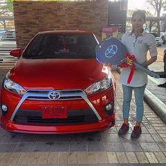 ยินดีต้อนรับ...สู่ครอบครัว #โตโยต้า #TOYOTA เติมความสุข ทุกสัมผัส การส่งมอบรถยนต์ใหม่ #ยาริส #YARIS THAT