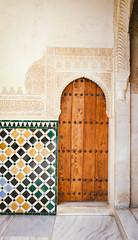 Secret Door at the Alhambra (Tissoz) Tags: door espaa spain andalucia alhambra granada grenade espagne mudejar vsco
