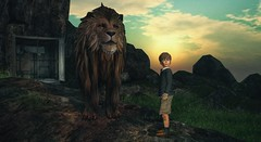 Greatness is not found in possessions, power, position, or prestige.  It is discovered in goodness, humility, service, and character. (Skippy Beresford) Tags: light boy love childhood hope goodness guidance character lion narnia service wardrobe skippy aslan greatness humility