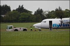 OO-VLI Fokker F50 VLM Airlines (elevationair ) Tags: aviation landing arrival emergency runway landed dub airliners dublinairport diversion f50 fokker emergencylanding vlm avgeek fokkerf50 eidw vlmairlines landinggearproblem oovli 2052016 diverttodublin vlm12lw disableaircraft lutonwaterford runwayblocked