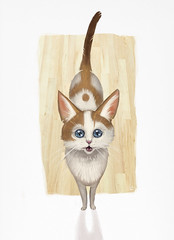 Archie (Shmoonify) Tags: cats cute illustration cat painting kitten drawing adorable kitty kittycat