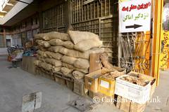 Shiraz's Bazar (10b travelling) Tags: persian asia asien iran grain middleeast persia shiraz asie iranian bazaar bazar sacks 2014 neareast moyenorient naherosten mittlererosten tenbrink carstentenbrink westernasia iptcbasic 10btravelling