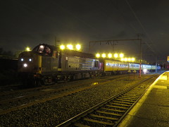 37609 TNT 37667 1Q14? Stockport 13/05/2016 (37686) Tags: 3 grove rail class hazel stockport type 37 thrash tnt ee services direct clag drs 37609 37667 1q14 13052016 railfreight37609