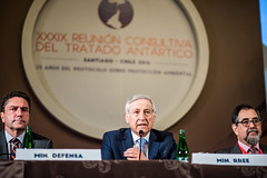 """Canciller Muñoz tras inauguración de Reunión Consultiva del Tratado Antártico """"Para Chile la Antártica es Futuro"""" (16)"""