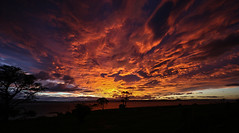 Maria Island, Tasmania. (Steven Penton) Tags: sunset sun island maria australia tasmania rise