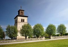 Fide kyrka, Gotland (Sweden) (Bochum1805) Tags: church churchtower medieval gotland kyrka fide kyrktorn kyrkogårdsmur