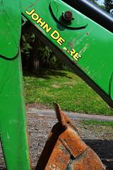Deere (Sotosoroto) Tags: washington hiking backhoe johndeere dayhike flaminggeyser flaminggeyserstatepark
