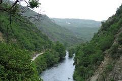 Macedonia (Skopje) Treska river in Matka canyon (ustung) Tags: water creek river landscape nikon outdoor hill canyon macedonia mountainside watercourse matka skopje treska