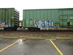 09-01-10 (6) (This Guy...) Tags: road railroad car train graffiti box graf rail rr traincar boxcar graff 2010