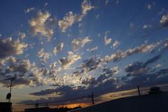 Clouds in sunset (rawiinyo) Tags: sunset cloud japan     yashio