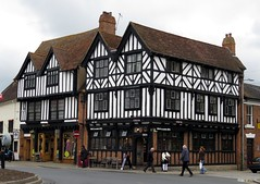 stratford-upon-Avon (gerben more) Tags: uk england house building stratford timbered