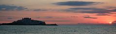 Peispano (mzmikel) Tags: sunset sea espaa castle wow mar spain nikon amanecer castillo peiscola itsasoa