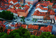 Novi Trg, Ljubljana, Slovenia (West Tribe) Tags: ljubljana slovenia slovene oldtown europe eu novi trg new