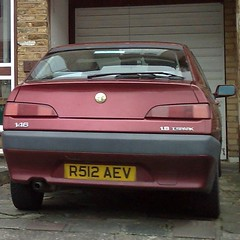 (uk_senator) Tags: burgundy alfa romeo 1997 146
