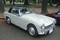 BCCM16081b (tanayan) Tags: park classic car nikon automobile meeting mg nagoya british midget j1    tsuruma