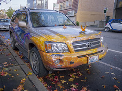 2015-11-24 - 001-007 - HDR (vmax137) Tags: seattle art car anne washington highlander queen panasonic toyota wa hdr 2015 dmcgh2