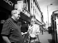 "London Black and White Street Photography - ""The Great Londoners"" (Nicholas Goodden) Tags: people monochrome coral camden candid voigtlander streetphotography olympus pharmacy oldpeople shotfromthehip oldage manualfocus camdentown blackandwhitephotography urbanphotography londoners peopleonthestreets manuallens blackandwhitestreetphotography londonphotography microfourthirds omdem1"