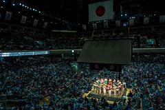 Natsu basho, May 2016 (skweeky ) Tags: japan tokyo lutte may arena tournament sumo rite japon edo kokugikan ceremonial 2016 makuuchi rikishi tournoi rygoku dohy