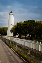 Ocracoke Island Light (Kelly Lambert Photography) Tags: old lighthouse white history texture home lines island nc north historic carolina outer leading banks obx ocracoke sobx