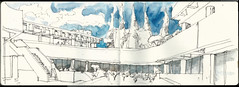 2016 Sketch Session 2 (Dreyfuss + Blackford Architecture) Tags: california plaza white art architecture watercolor sketch still drawing background sketching headquarters landmark lincoln session sacramento lesson architects blackford dreyfuss 2016 calpers