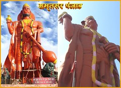 Ram Tirath (narendrasadhu) Tags: punjab amritsar bajrangbalistatues
