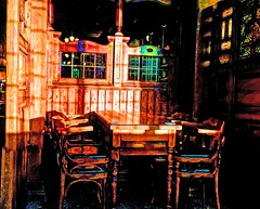 sunshine room (thesettlementgroup) Tags: pub newcastle chair table colour texture