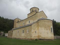 Apse end, Sopoani Monastery church, Serbia (Paul McClure DC) Tags: church serbia monastery balkans orthodox novipazar raka sopoani sandak may2016