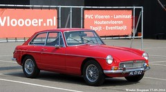MG B GT 1969 (XBXG) Tags: auto old uk b red england holland classic 1969 netherlands car amsterdam vintage rouge automobile nederland voiture mg british gt rood paysbas coupe coup engeland ancienne mgb mgbgt anglaise al0182