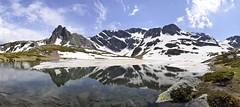 Seven Rila Lakes #2 (Dime Pashoski) Tags: park panorama snow nature lakes rila national seven