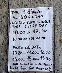 Favignana (Isole Egadi) - Stabilimento Florio (ikimuled) Tags: favignana egadi stabilimentoflorio tonnara archeologiaindustriale cartelli