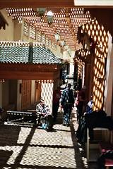 (michel nguie) Tags: michelnguie film analog vertical street urban fes fs fez marocco africa bab rcif light