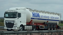 D - HIM DAF XF 106 SC (BonsaiTruck) Tags: truck him silo 106 lorry camion trucks bulk lastwagen daf lorries lkw xf ffb citerne lastzug silozug feldbinder powdertank