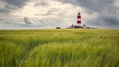 Happisburgh 35mm (scott.hammond34) Tags: uk sky lighthouse clouds canon landscape eos movement outdoor norfolk scenic fields happisburgh sigma35mmart