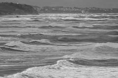 Hope (garciadiego769) Tags: garciadiego769 nikon d5200 tamron 70300 biarritz biarriz francia france paisvasco euskadi europe europa costa coastal mar sea agua water ola olas wave waves espuma foam landscape paisaje feel blackandwhite bw blancoynegro bn noise ruido pattern calma calm