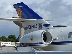 CM-02 Falcon 20 Yeovilton (ZD703) Tags: dassault yeovilton belgianairforce dassaultfalcon20 belgianaircomponent cm02 belgiandefence yeoviltonairday2016