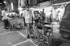H504_3467-4 (bandashing) Tags: street england people bw monochrome night dark manchester sharif shrine wheelchair disabled nightlife sylhet bangladesh freaks beg socialdocumentary bighead beggars mazar dargah aoa shahjalal bandashing akhtarowaisahmed