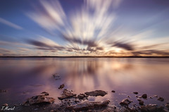 Contemplacin / contemplation (tmuriel67) Tags: longexposure sunset naturaleza nature water clouds outdoors atardecer spain nikon flickr colours alicante nubes cielos watercolors torrevieja waterscapes largaexposicion ndfilters nd10 d5100