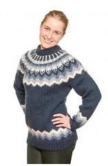 Icelandic wool sweater (Mytwist) Tags: woman wool girl fashion female fetish vintage iceland sweater warm fuzzy navy style retro blonde isle icelandic lopi vouge sweatergirl icelandicsweater lopapeysa slensk woolfetish istex grobstrick
