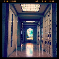 Corridor in Cathedral Mausoleum (katerz1) Tags: fone hollywoodforever