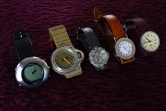 Watches... (revelinyourtime) Tags: watches time watch collection saat collector alessi tissot aldorossi armbanduhr castiglioni watchcollection watchdesign alessiwatch cabanedezucca achilecastiglioni