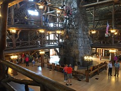 "Old Faithful Inn • <a style=""font-size:0.8em;"" href=""http://www.flickr.com/photos/75865141@N03/27666179015/"" target=""_blank"">View on Flickr</a>"