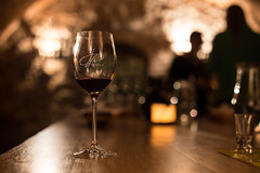 In the Cellar (Katka S.) Tags: moravia morava wine spring cellar tasting drink glass red people dark fotocompetition fotocompetitionbronze